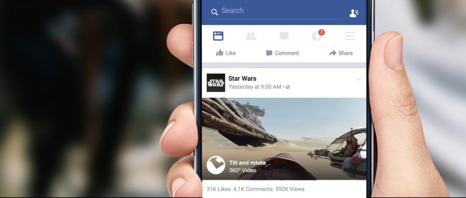 Nowa funkcja Facebooka sprawi, że najwygodniej będzie go oglądać kręcąc się na krześle biurowym