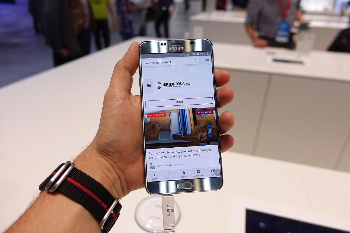 Samsung Galaxy Note 5 tylnymi drzwiami wszedł do Polski i zaraz po tym zniknął [aktualizacja]