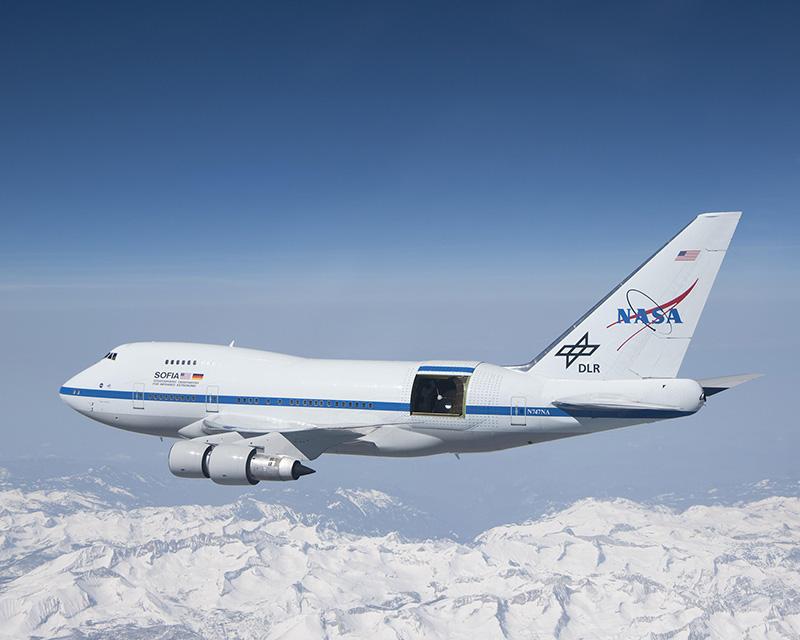 NASA, latające obserwatorium i nietypowy gość na pokładzie