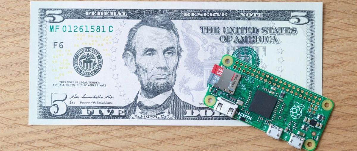 Poznaj Raspberry Pi Zero, czyli komputer w cenie hamburgera