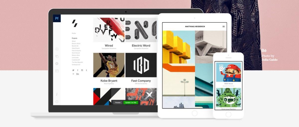 Adobe Portfolio to nowa usługa, dzięki której łatwo utworzysz własną stronę WWW
