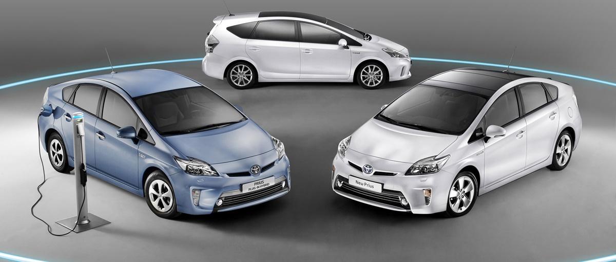 Toyota Prius w trzech wariantach