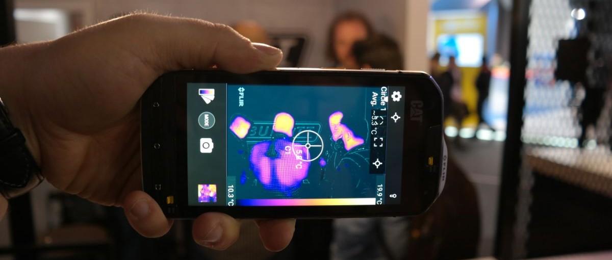 Korzystaliśmy z pierwszego smartfonu z kamerą termowizyjną. Oto CAT S60