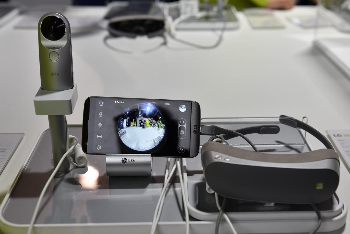 Nie tylko G5, czyli sprawdziliśmy nowe okulary VR, kamerę i… robota od LG