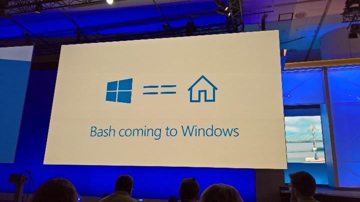 Bez wątpienia, dla wielu to właśnie Bash na Windows 10 jest najważniejszą nowością konferencji Microsoftu