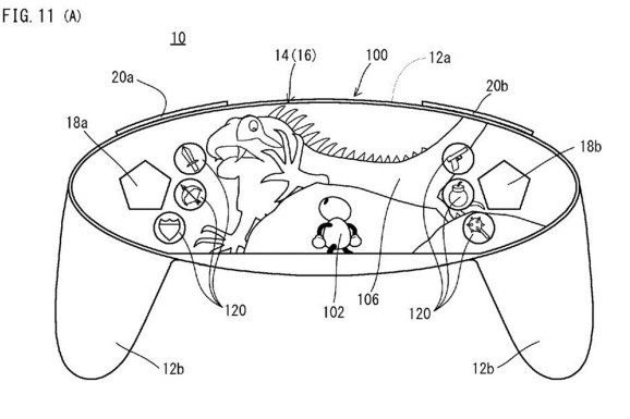 nintendo nx kontroler patent 2