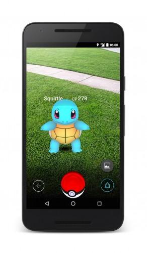 Screenshoty z Pokemon Go - Premiera Pokemon Go