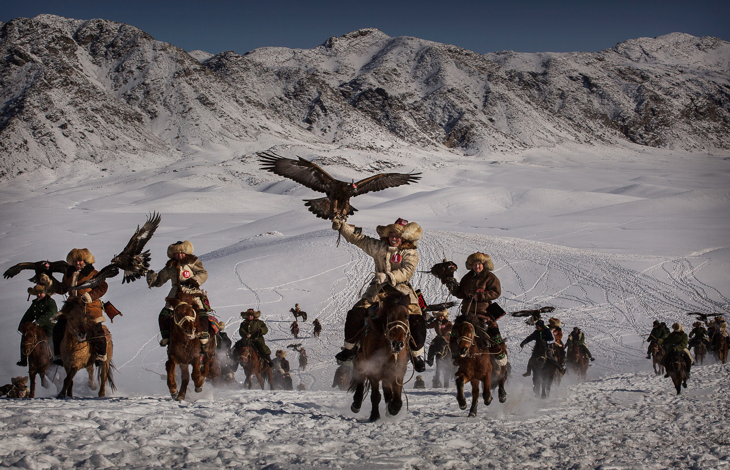 China's Kazakh Minority Preserve Culture Through Eagle Hunting in Western China