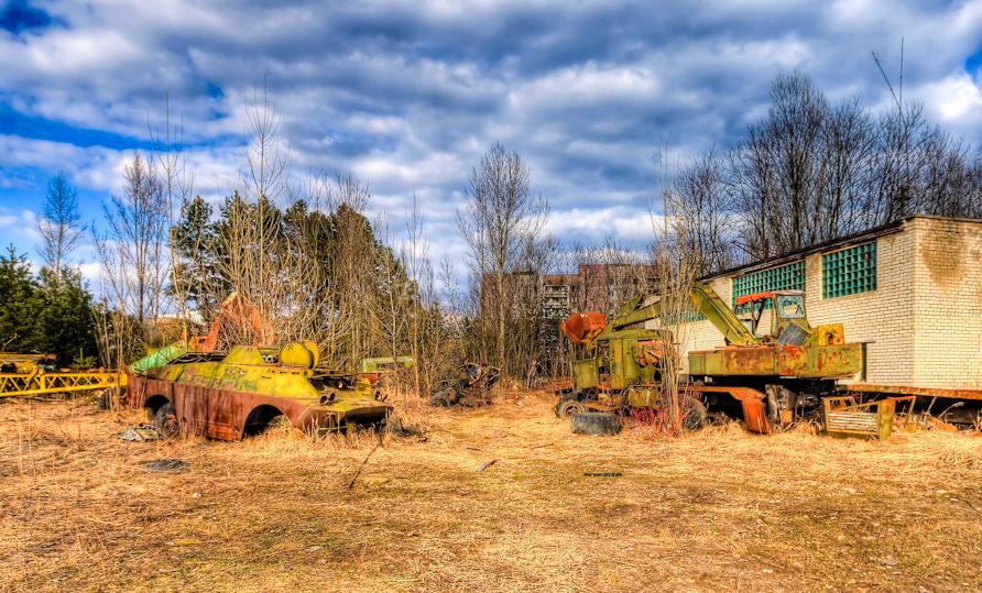 Czernobyl teren katastrofy