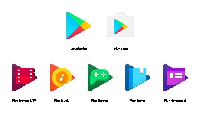 Ikony Google Play doczekały się poważnego przemodelowania.
