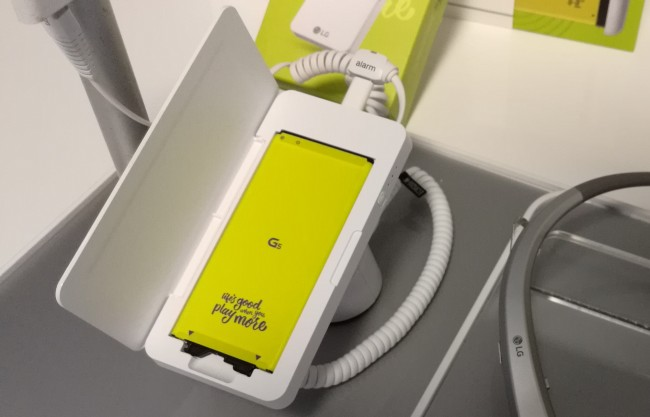 Najlepsze akcesorium do LG G5 to drugi akumulator.