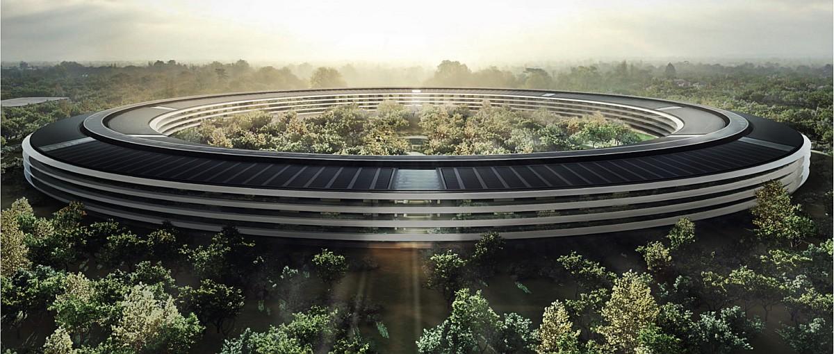 Wideo dnia: zobacz, z jakim rozmachem Apple tworzy swoją nową siedzibę