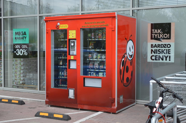 biedronka automat