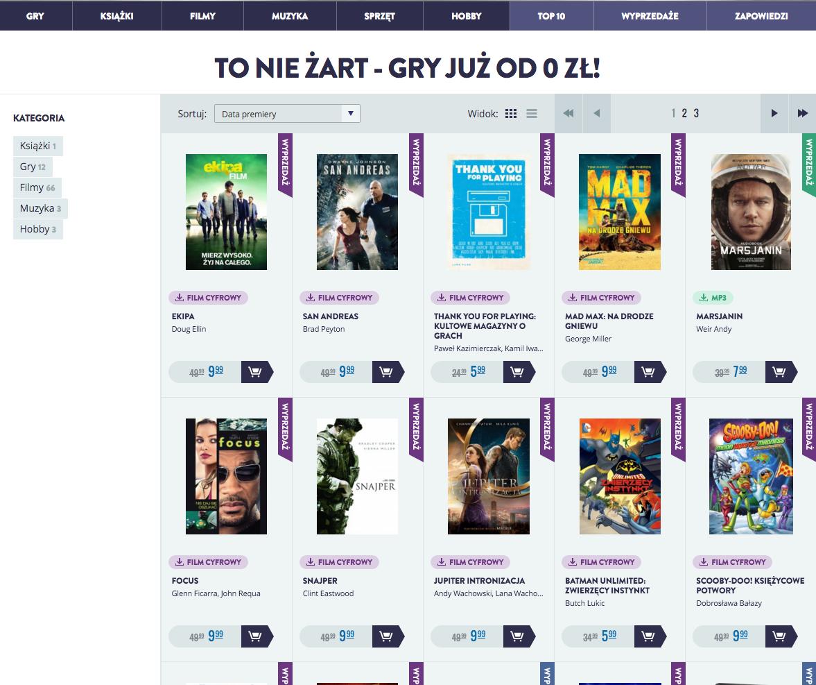 W CDP.pl spora promocja. Niektóre gry do wyrwania za darmo!