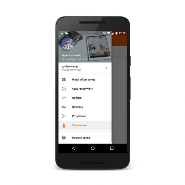 Zupełnie nowa aplikacja Google Analytics dla Androida