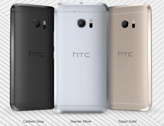 HTC 10 - smartfon HTC na 2016 rok