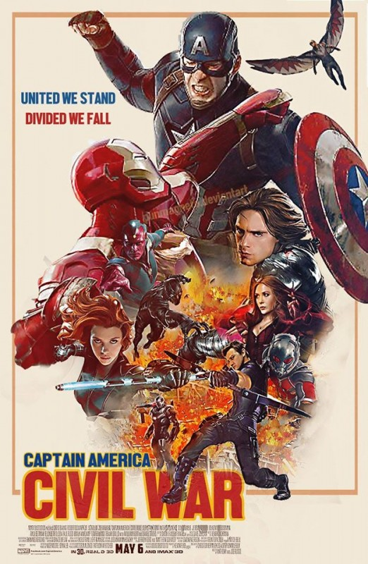 Kapitan Ameryka - Civil War - recenzja