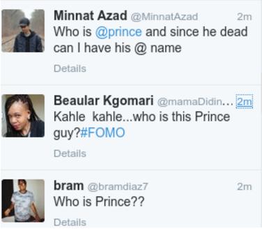 Ludzie nie wiedzą, kim był Prince.