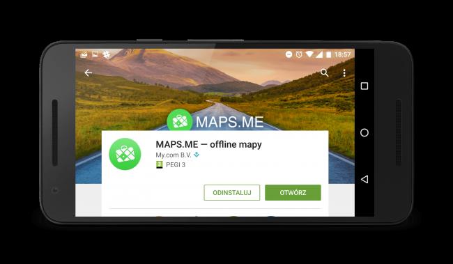 Maps.me - darmowa nawigacja offline z bezpłatnymi mapami