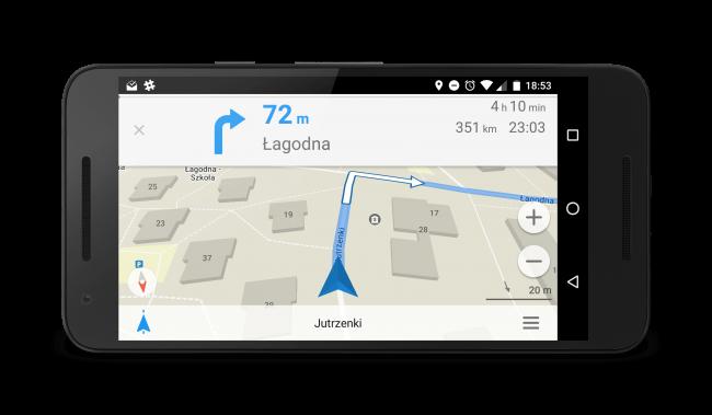 Maps.me - darmowa nawigacja offline