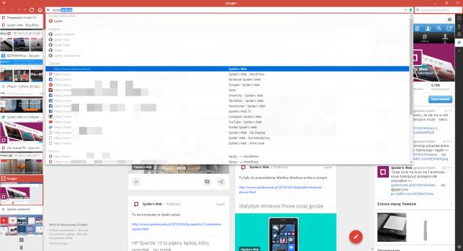 Przeglądarka Vivaldi: zaawansowane opcje wyszukiwania są bardzo pomocne