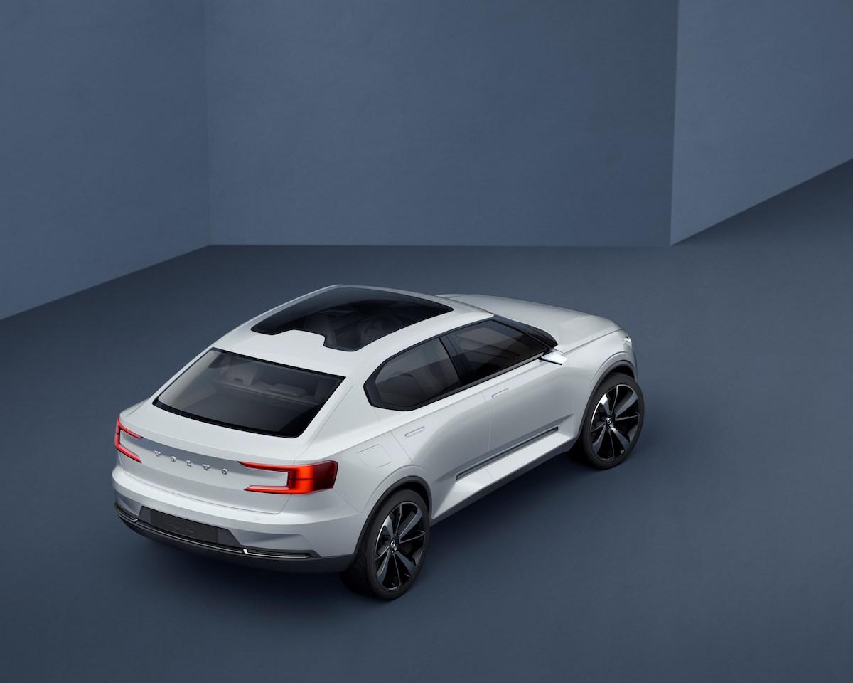 Volvo Concept 40.2 rear quarter high