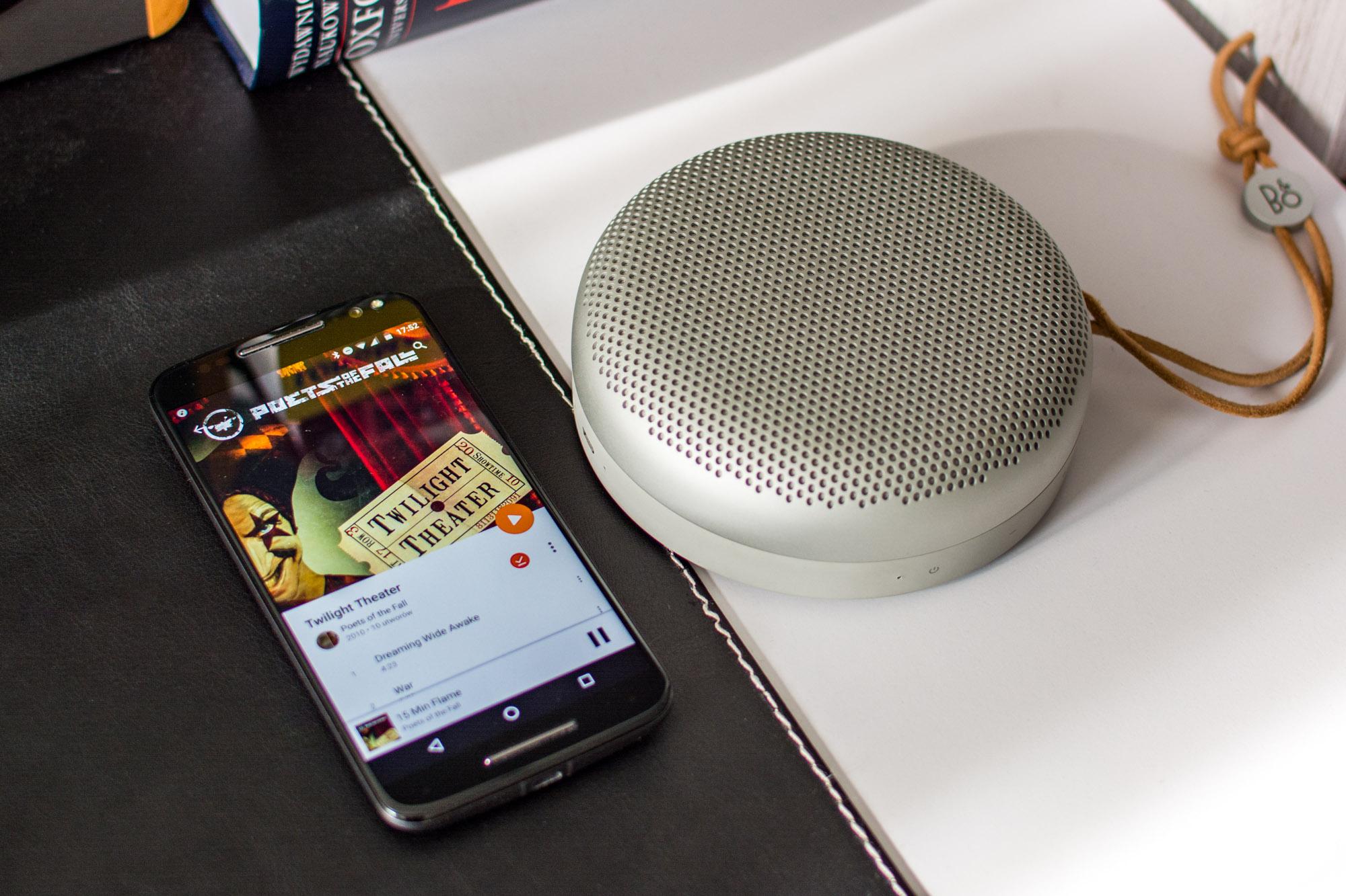 BeoPlay A1 to najlepszy mobilny głośnik Bluetooth. Kropka.