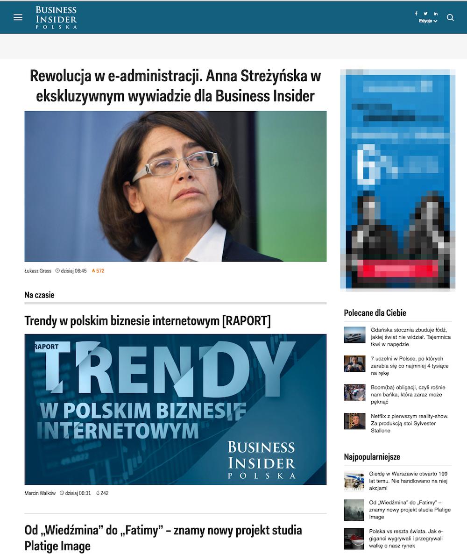 strona główna Business Insider Polska