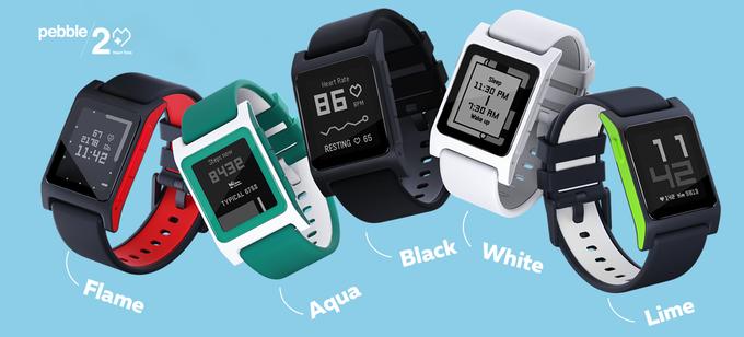Pebble 2 to najtańszy smartwatch z możliwych.