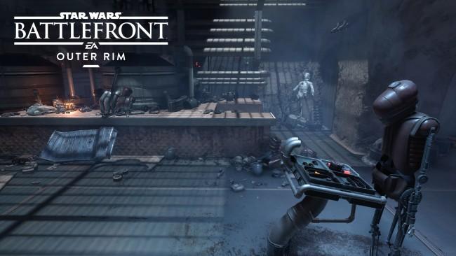 Star Wars Battlefront Outer Rim DLC recenzja