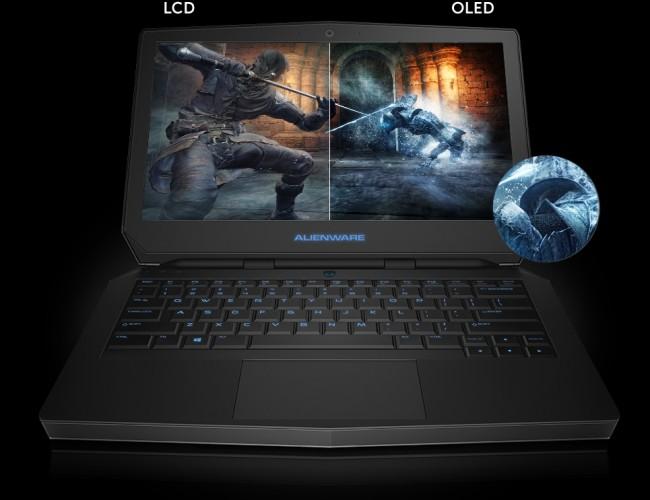 Alienware laptop OLED