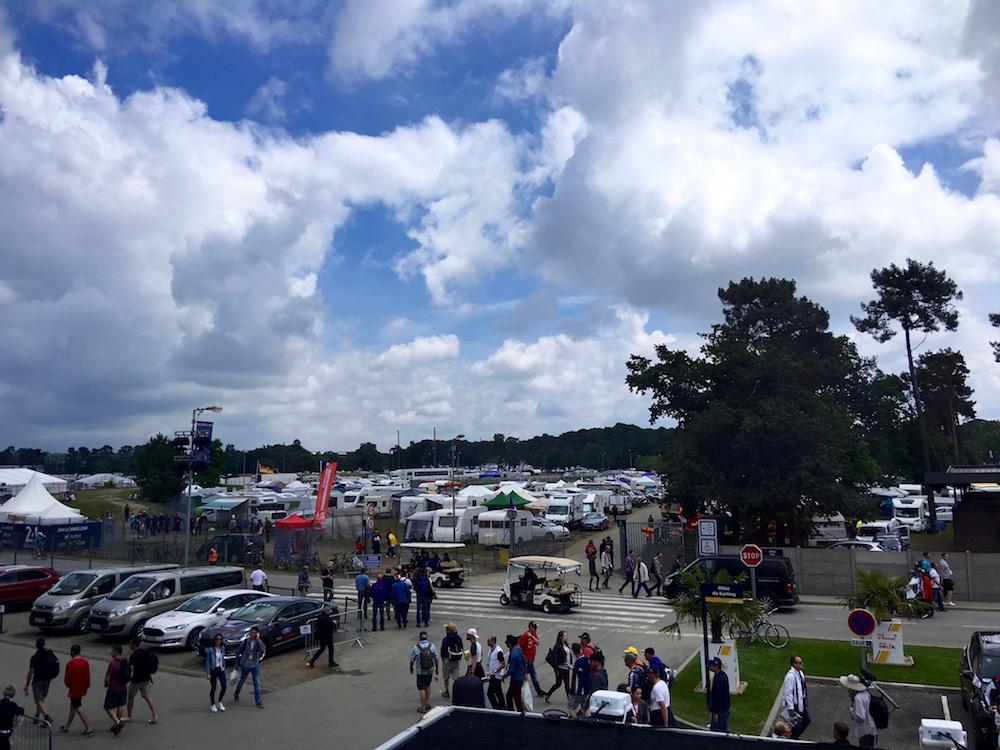 Le Mans kampery