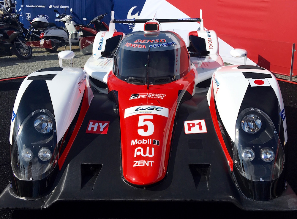 Toyota bolid Le Mans