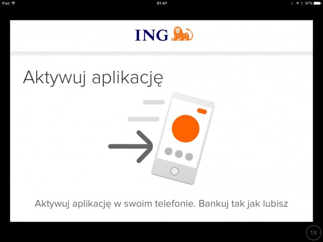 Aplikacja Moje ING na iPhone'a