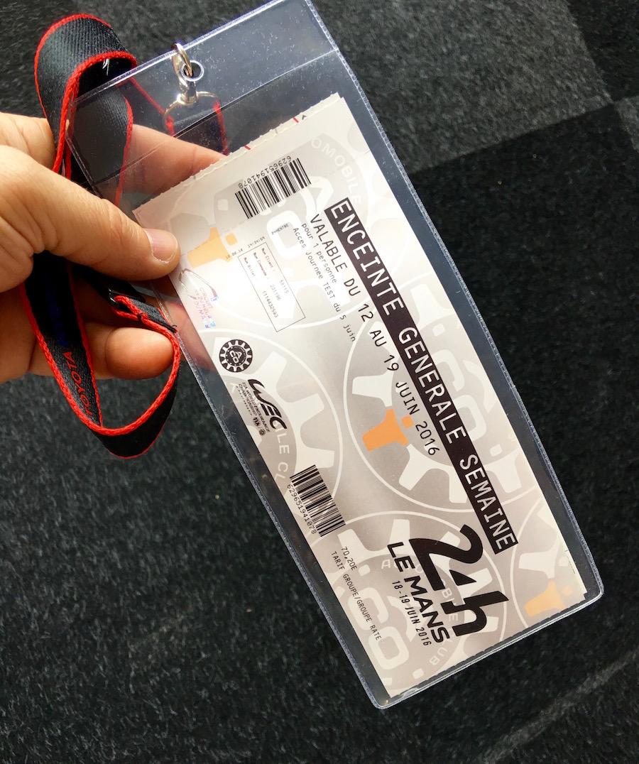 bilet le mans