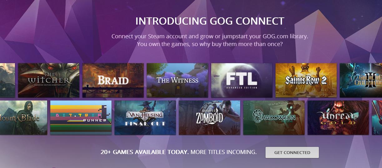 Lubisz gry bez DRM? Od teraz przeniesiesz je ze Steama na konto GOG