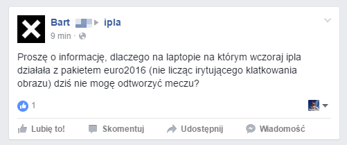Euro 2016 w Ipla: nie ma problemów z aktywacją, ale nie wszyscy mogą cieszyć się wysoką jakością transmisji