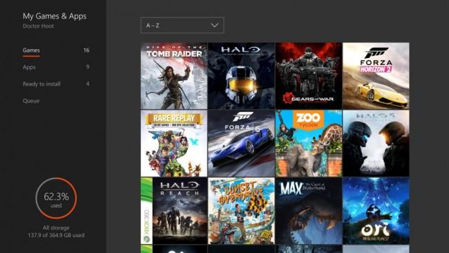 letnia aktualizacja konsoli Xbox One