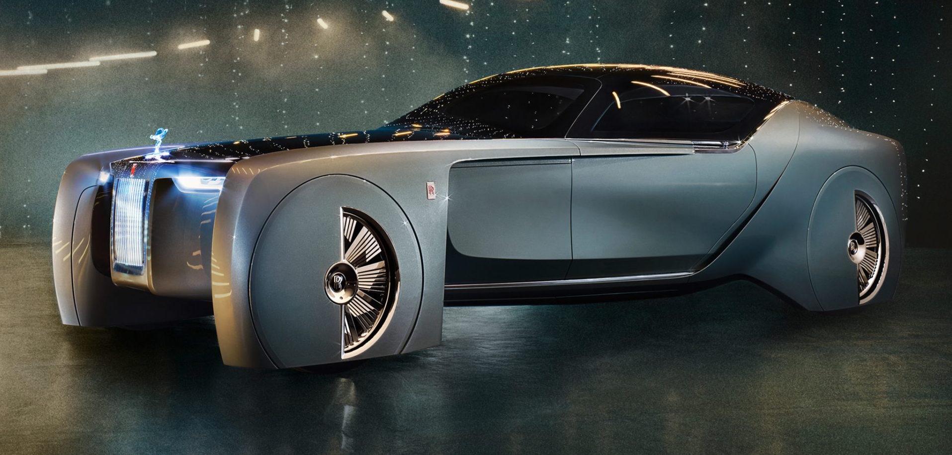 Niesamowity Rolls-Royce 103EX, setne urodziny BMW na bogato