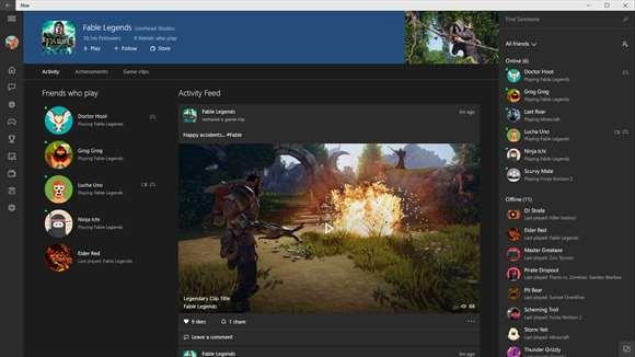 Aplikacja Xbox