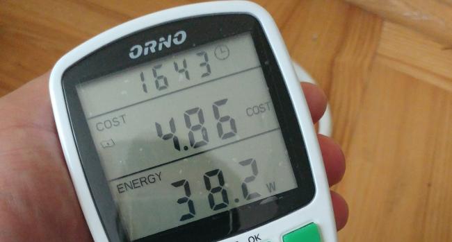 LG Premium Kombi zużycie energii