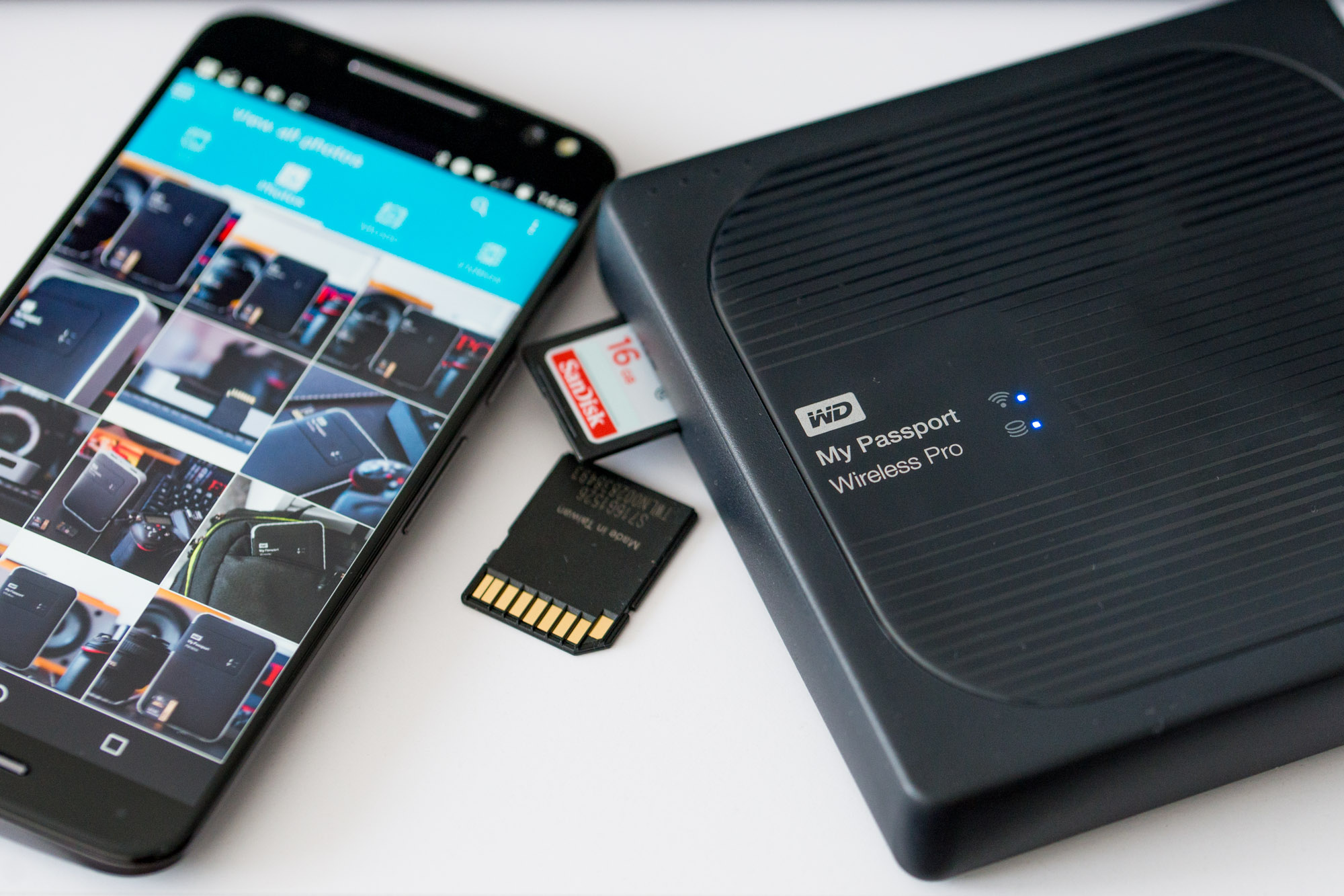 WD MyPassport Wireless Pro to sprzęt dla profesjonalisty.