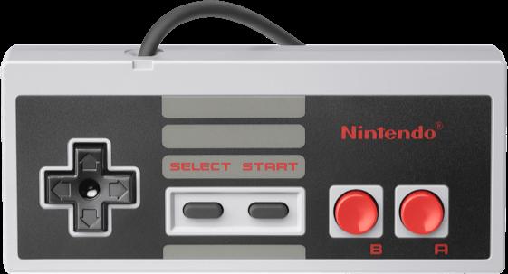 Kontroler do NES Classic jest żywcem przeniesiony z prawdziwego NES-a.