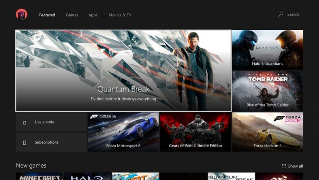 Windows 10 Anniversary Update na Xbox One