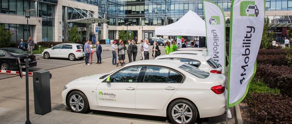 Startuje 4Mobility, czyli Veturilo dla samochodów! Wynajmiesz auto, kiedy chcesz