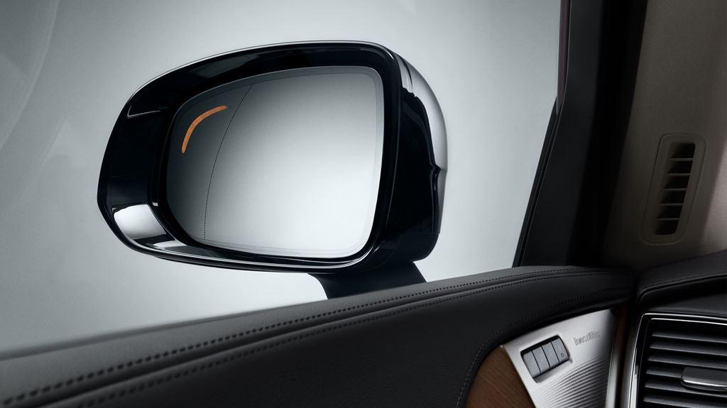 Sygnalizator martwego punktu w Volvo