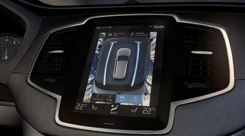 Kamera cofania w Volvo