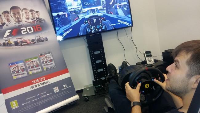 F1 2016 pierwsze wrażenia