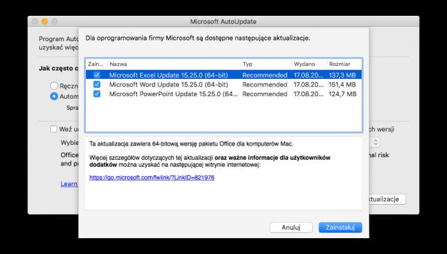 Office x64 Mac