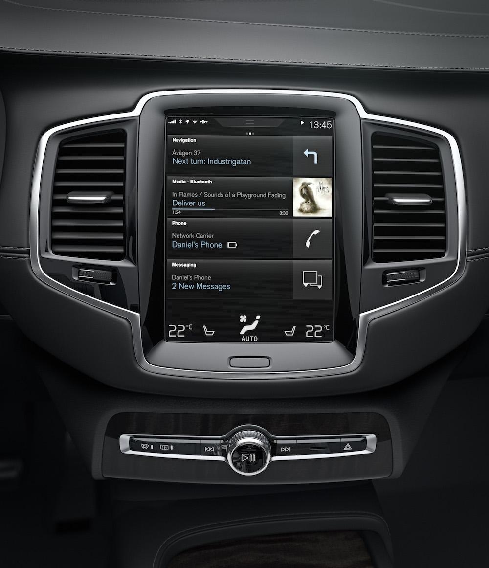 Integracja smartfonu z Volvo